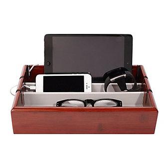 oyo box tech tray in mahogany