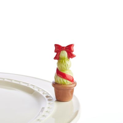 Nora Fleming Topiary Red Mini
