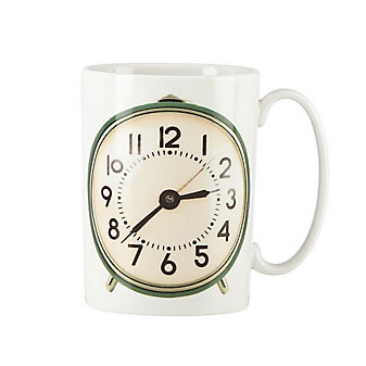 Kate Spade Snap Happy Alarm Clock Mug
