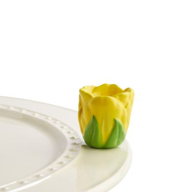 Nora Fleming Yellow Tulip Mini