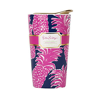 Lilly Pulitzer Travel Mug Flamenco