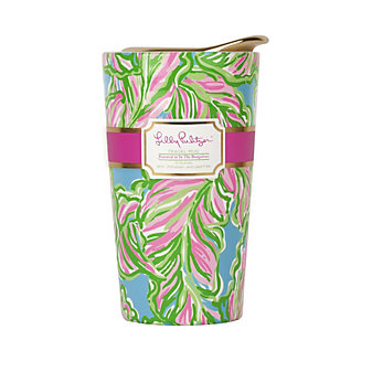 Lilly Pulitzer Travel Mug In The Bungalows