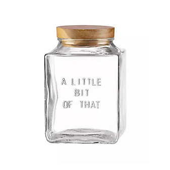 Kate Spade A Little Bit Of That Glass Cannister Small