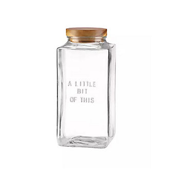Kate Spade A Little Bit Of That Glass Cannister Large