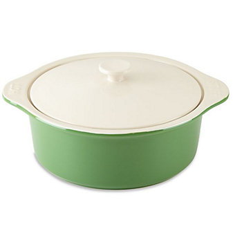 Kate Spade All In Good Taste Covered Casserole Green