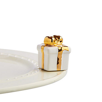 Nora Fleming White Gift Mini