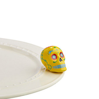 Nora Fleming Sugar Skull Mini