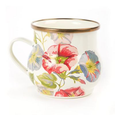 MacKenzie-Childs Morning Glory Mug
