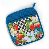 MacKenzie-Childs_Berries_&_Blossoms_Pot_Holder