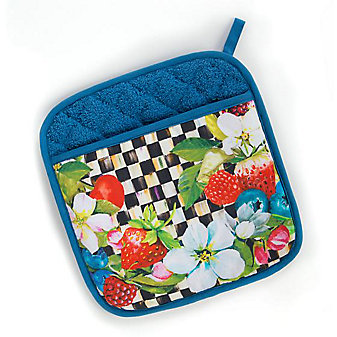 MacKenzie-Childs Berries & Blossoms Pot Holder
