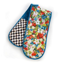 MacKenzie-Childs_Berries_&_Blossoms_Double_Oven_Mitt