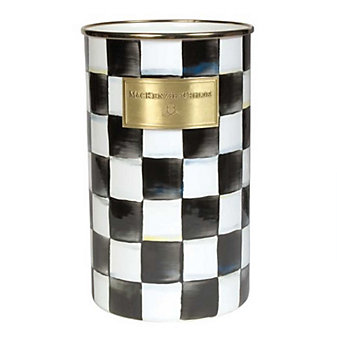 Mackenzie Childs Courtly Check Utensil Holder