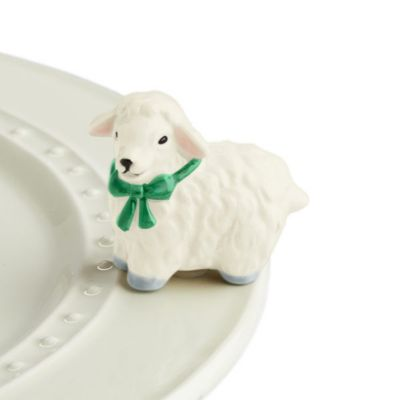 Nora Fleming I Love Ewe Lamb Mini