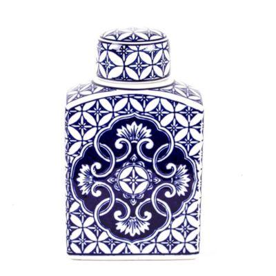 8 oak lane multi pattern ginger jar
