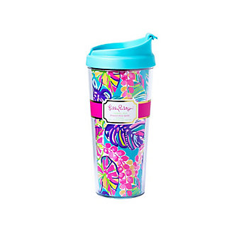 LILLY PULITZER THERMAL MUG - EXOTIC GARDEN