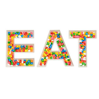 eat word snack dishes