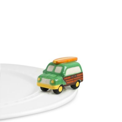 Nora Fleming Woody Wagon Mini