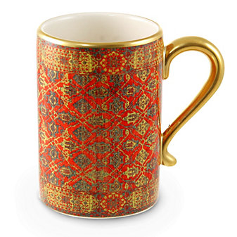 L'Objet Tabriz Mugs, Set of Four