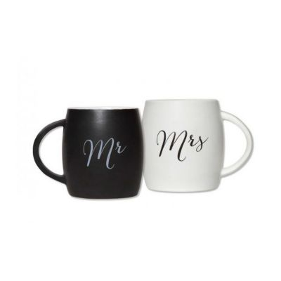 c.r. gibson true love coffee mug set