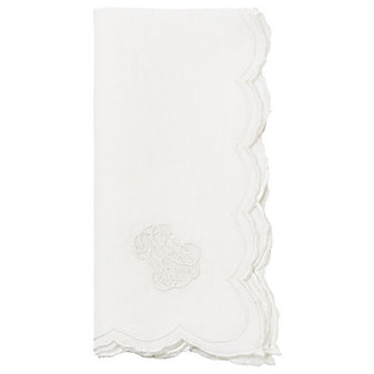 Juliska Heirloom White Napkin