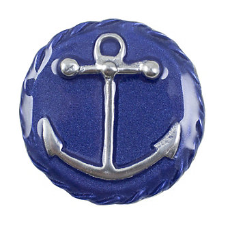 Mariposa Anchor Emblem Blue Napkin Weight