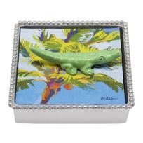 Mariposa_Alligator_Napkin_Box,_Green
