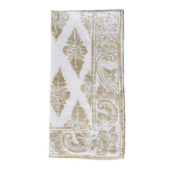 Juliska Florentine Gypsy Gold/Whitewash Napkin