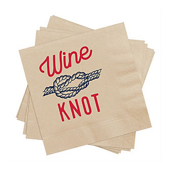 MUD PIE ANCHORS AWINE PAPER COCKTAIL NAPKINS