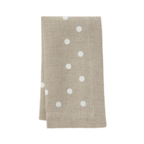 mode_living_belle_beige_napkins_with_white_dots,_set_of_4