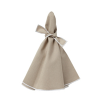 mode_living_napa_beige_napkins_with_white_hem,_set_of_4