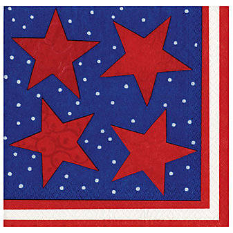 Caspari Starry Night Paper Luncheon Napkins