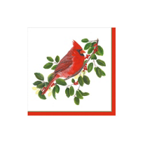 Caspari_Winter_Songbirds_Paper_Cocktail_Napkins