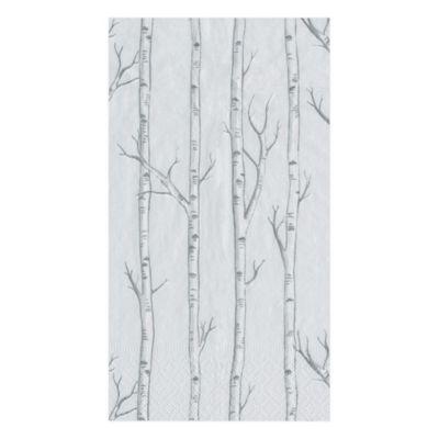 Caspari Birch Paper Guest Towel Napkins