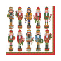 Caspari_Nutcracker_Parade_Paper_Luncheon_Napkins,_White
