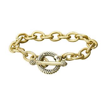 "Jay Strongwater 7.5"" Toggle Bracelet"