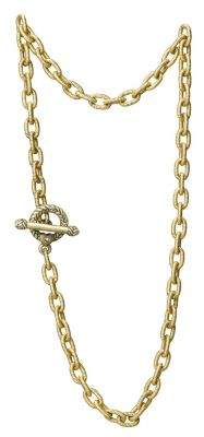 """Jay Strongwater Toggle Necklace 18 1/2"""""""