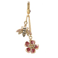 Jay_Strongwater_Bee_and_Flower_Dangle_Charm