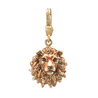 Jay Strongwater Lionhead Charm