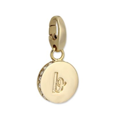 """Spartina 449 """"B"""" Round Crystal Letter"""