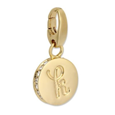 """Spartina 449 """"K"""" Round Crystal Letter"""