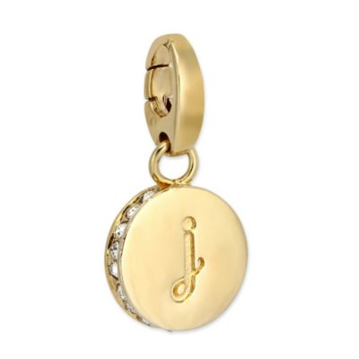 """Spartina 449 """"J"""" Round Crystal Letter"""