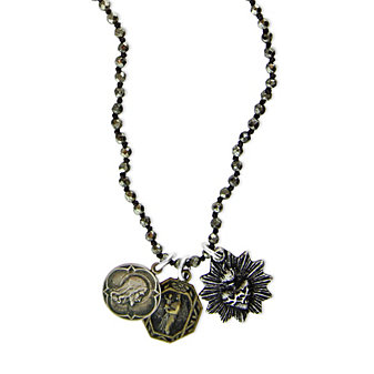 Miracle Icons Pyrite Necklace