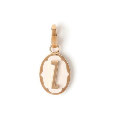 Spartina 449 Oval Cartouche Letter Charm Z
