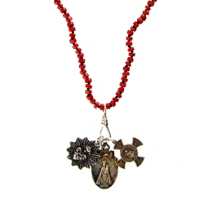 Miracle_Icons_Red_Coral_Heishi_Necklace