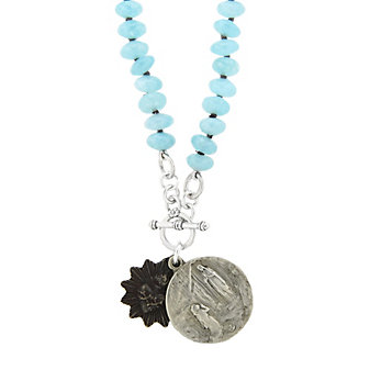 Miracle Icons Sponge Quartz Necklace