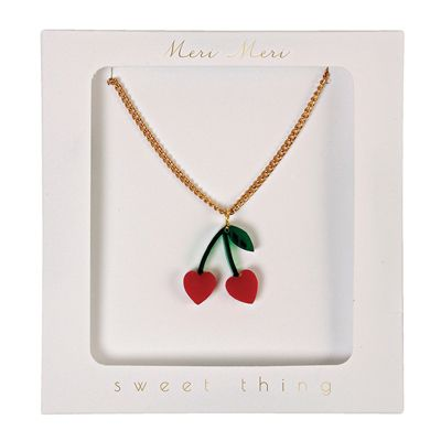 Meri Meri Cherry Charm Necklace