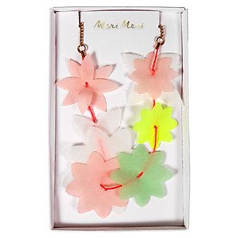 Meri Meri Fabric Floral Lei Necklace