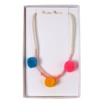 Meri Meri Pom Pom Necklace