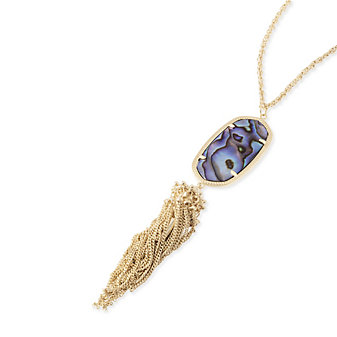 Kendra Scott Rayne Abalone Shell Necklace