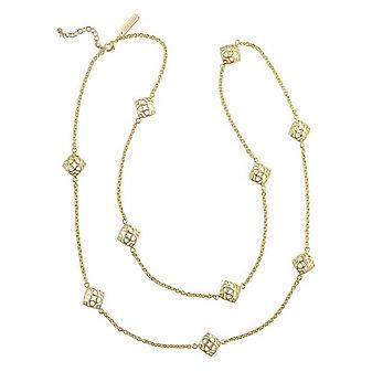 kendra scott nemera long necklace in gold
